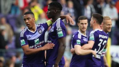 Jupiler Pro League : Anderlecht bat le FC Bruges et s'isole en tête du classement