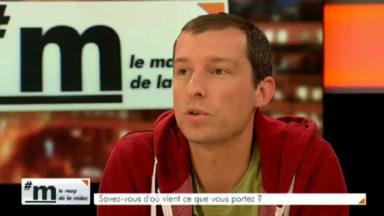 Jean-Marc Caudron : «On veut connaître les adresses et les noms des fournisseurs des vêtements que nous portons»