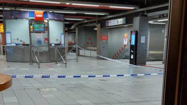 Homme poignardé près de la station De Brouckère : un jeune de 17 ans placé en IPPJ