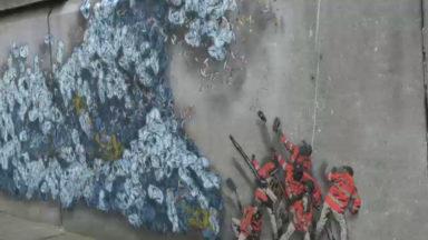 La Ville de Bruxelles met son service propreté à l'honneur via les arts de la rue