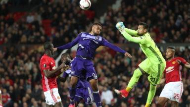 Europa League : Anderlecht éliminé en quarts par Manchester United après les prolongations