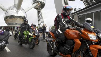 Le nombre d'accidents de motos en baisse de 30 % à Bruxelles