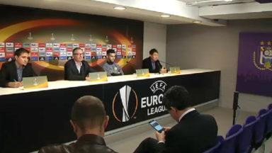 Europa League : Anderlecht-Manchester United sera sous haute sécurité