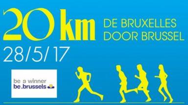 20 km de Bruxelles : découvrez le parcours et les accès bloqués sur notre carte interactive