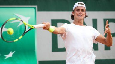 Roland-Garros : le Bruxellois Arthur De Greef éliminé dès le premier tour