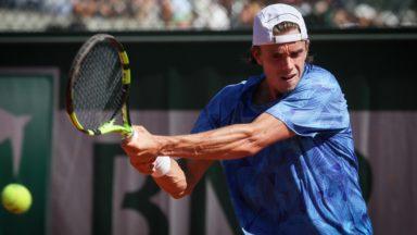 Le Bruxellois Arthur De Greef se qualifie pour le tour final de Roland Garros