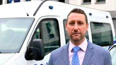 Bertrand Vols, nouveau chef de corps de la zone de police Bruxelles-Ouest, a prêté serment