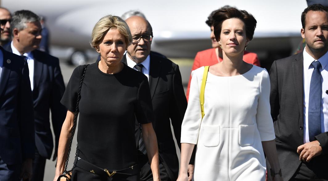 Brigitte Macron - Amélie Derbaudrenghien