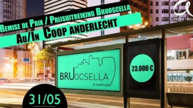 "Le projet ""Raining Poetry in Brussels"" remporte le prix Bruocsella by Prométhéa 2017"