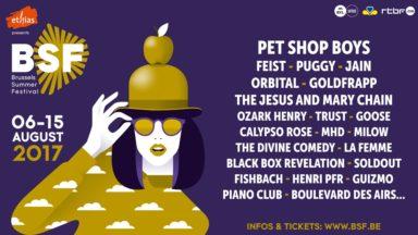 Le Brussels Summer Festival dévoile 13 nouveaux noms