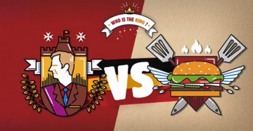 Burger King - Roi Philippe - Publicité
