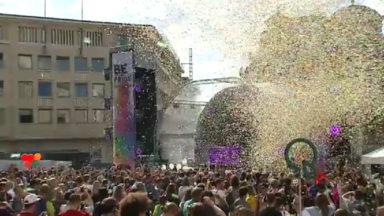 Belgian Pride : la fête se poursuit au Mont des Arts
