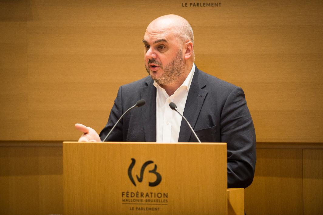 Christos Doulkeridis - Parlement Federation Wallonie Bruxelles