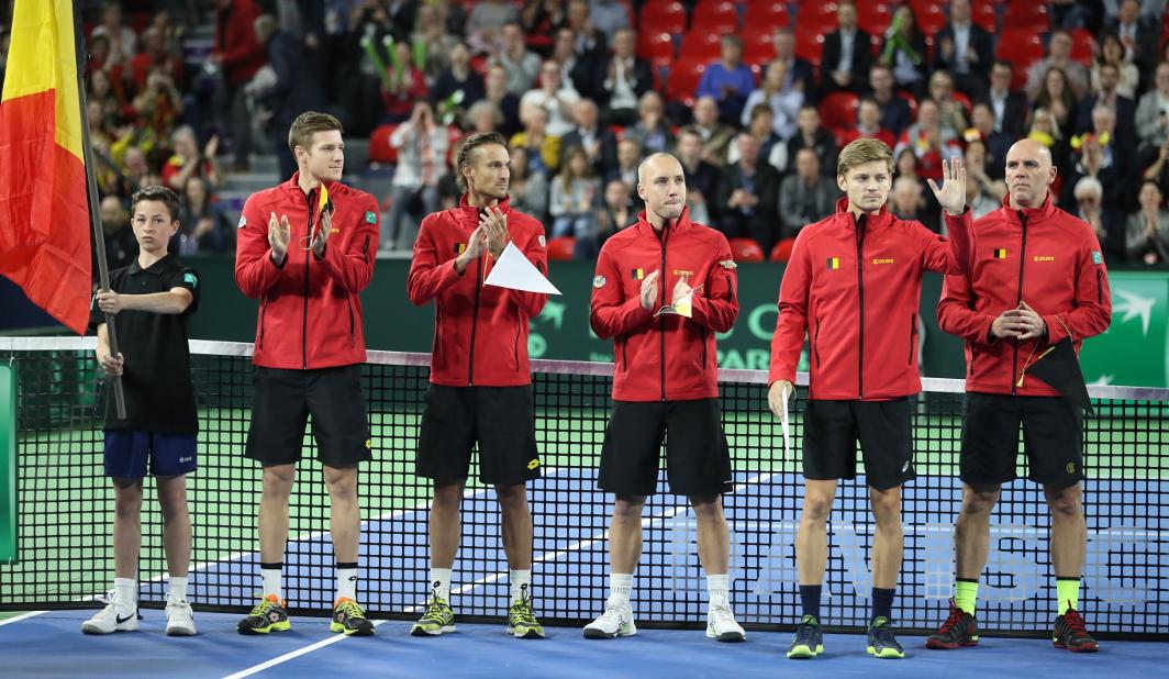 Coupe Davis - Belgique