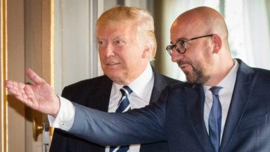 """Donald Trump s'est entretenu avec Charles Michel : """"Nous allons gagner contre le terrorisme"""""""