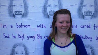 4 ans après son viol, une étudiante de la VUB lance sa propre campagne de sensibilisation