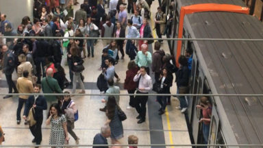 La station Schuman brièvement évacuée