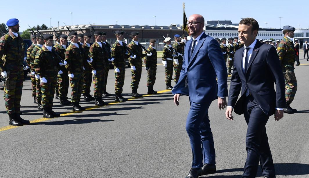 Emmanuel Macron - Charles Michel 2