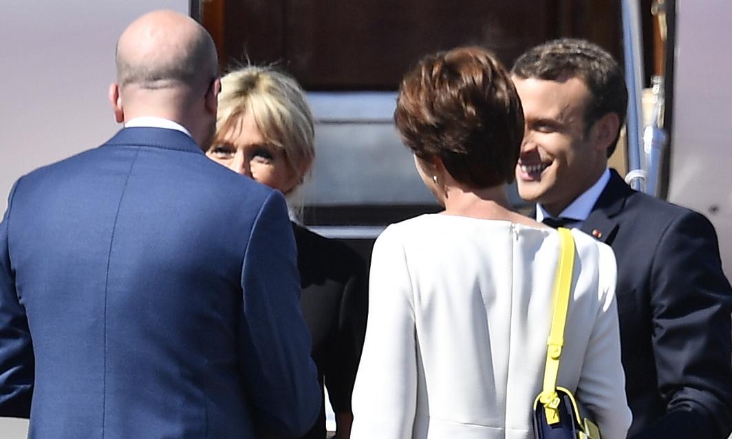 Emmanuel Macron - Charles Michel 3