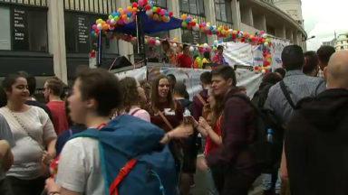Belgian Pride : ambiance aux couleurs de l'arc-en-ciel