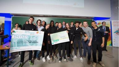 8 étudiants du Sacré-Coeur de Lindhthout gagnent le titre de mini-entreprise de l'année