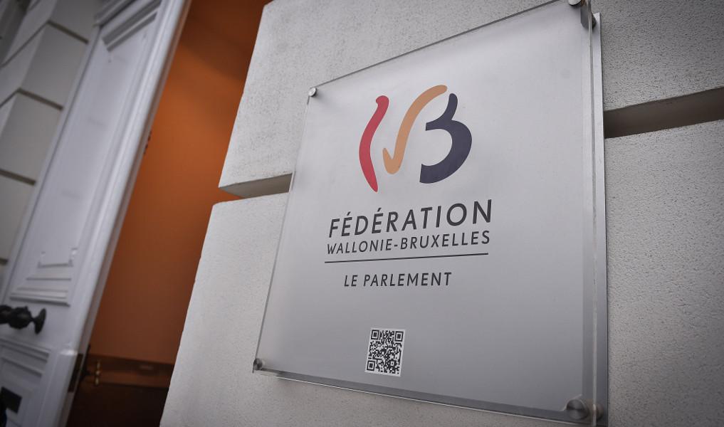 Logo - Parlement Fédération Wallonie-Bruxelles
