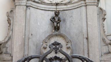 Manneken-Pis urinait des milliers de litres d'eau potable directement dans les égouts