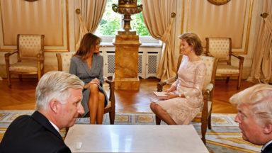 Child Focus se dit heureux de son entretien avec Melania Trump
