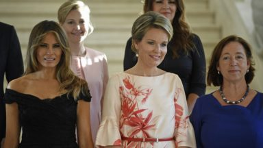 Melania Trump est heureuse de sa visite du Musée… Magrutte