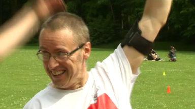 Patrick atteint de Parkinson se prépare à courir les 20 km