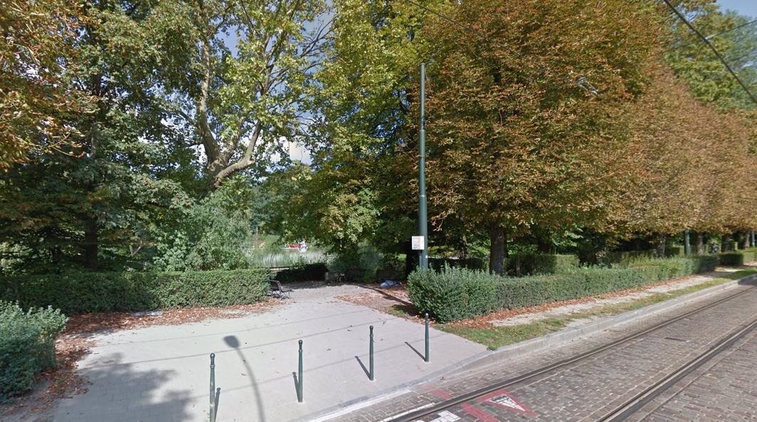 Parc Astrid - Anderlecht - Google Street View