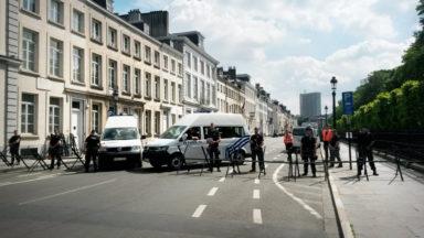 Bruxelles : le parc royal, la place des Palais et le quartier de l'ambassade américaine bouclés