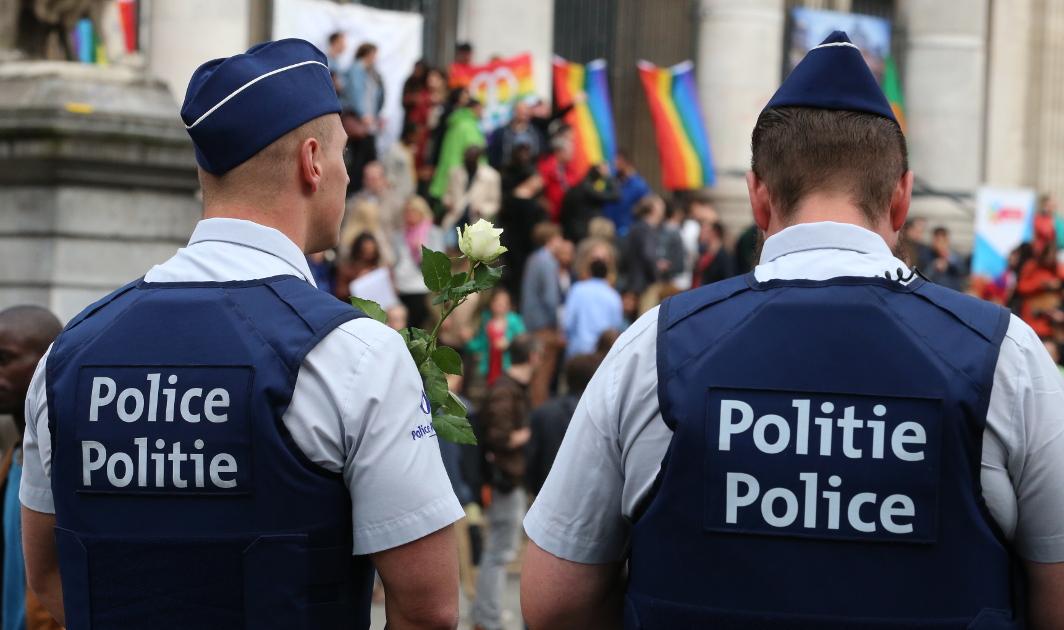 Police - Illustration Belga
