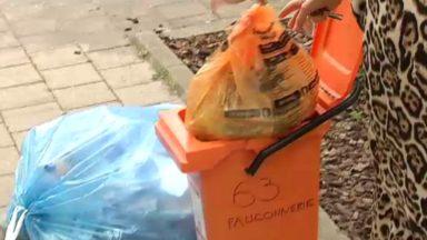 Watermael-Boitsfort : des bacs en dur distribués pour éviter des sacs oranges déchirés