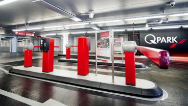 Le parking Q-Park de la gare du midi touché par la cyberattaque