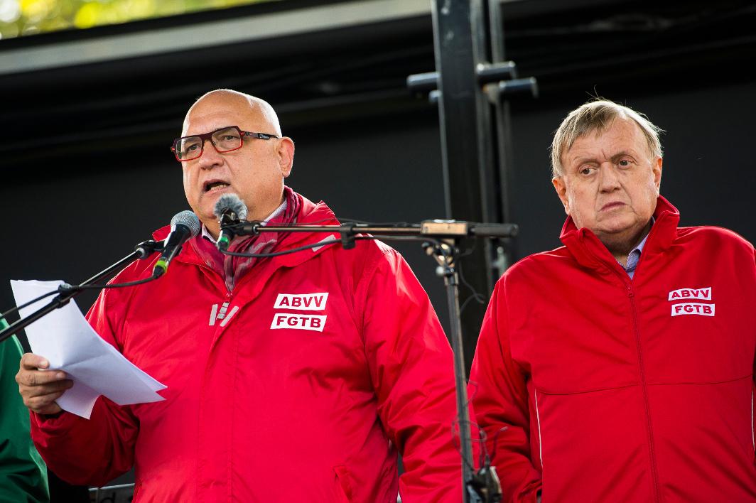 Rudy De Leeuw - Marc Goblet - FGTB