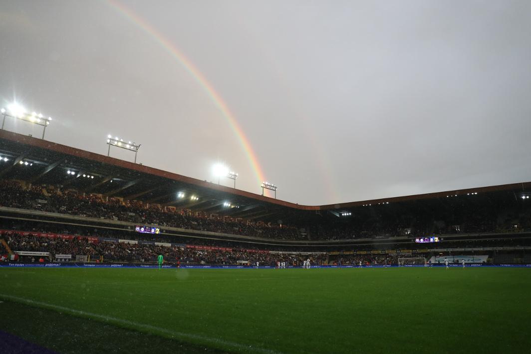 Stade Constant Vanden Stock - Anderlecht - Illustration Belga