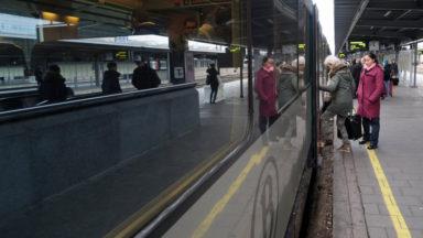 Incendie à Forest : le trafic ferroviaire fortement perturbé en gare de Bruxelles-Midi