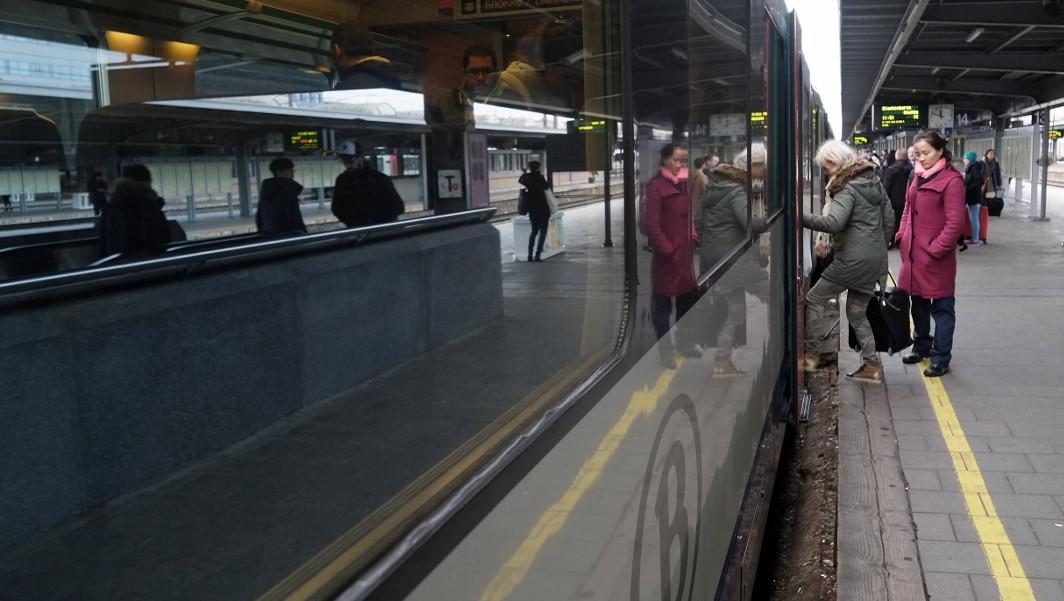 Train SNCB - Bruxelles-Midi - Belga
