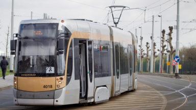 Des trams retardés en plusieurs endroits : les lignes 3 et 4 touchées