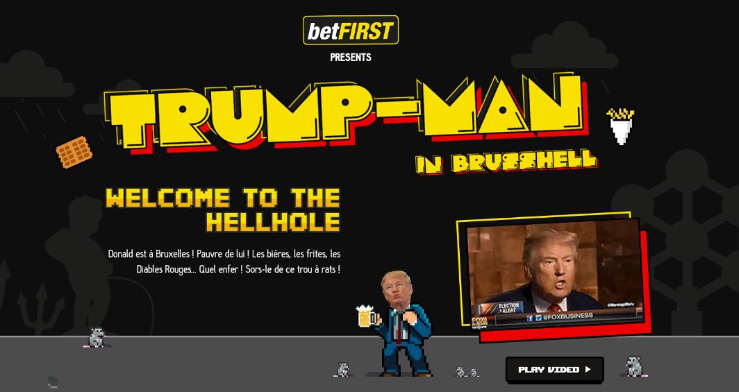 Trumpman - Bruxelles
