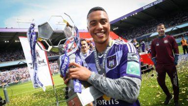 RSC Anderlecht : Youri Tielemans repris dans l'équipe-type de la saison en Europa League