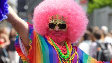 La Belgian Pride colore à nouveau le centre de Bruxelles
