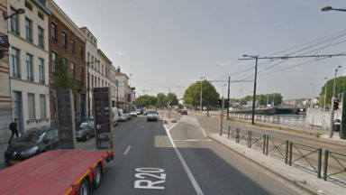 Un conducteur grièvement blessé lors d'un accident non loin du canal de Bruxelles