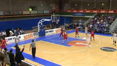 Basket : le Brussels remporte son dernier match à domicile avant les playoffs