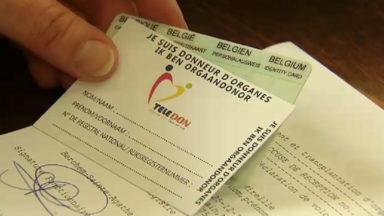 Les personnes qui veulent s'enregistrer pour le don d'organes pourront bientôt le faire en ligne