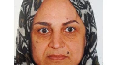 Avis de recherche : disparition de Diyana Nematkhah (53) à Ganshoren