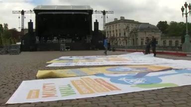 Food trucks à Tour et Taxis et musique place des Palais pour célébrer la fête de l'Iris