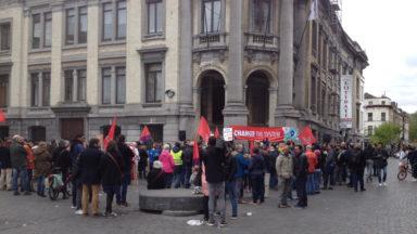 Le PTB et le Parti communiste ont marché ensemble pour une société plus démocratique