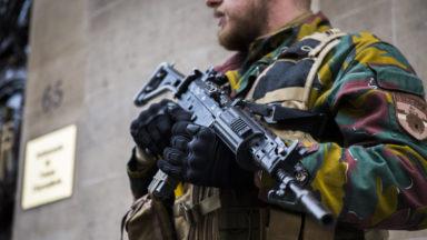 Les militaires ont rattrapé un fauteur de troubles à Ixelles